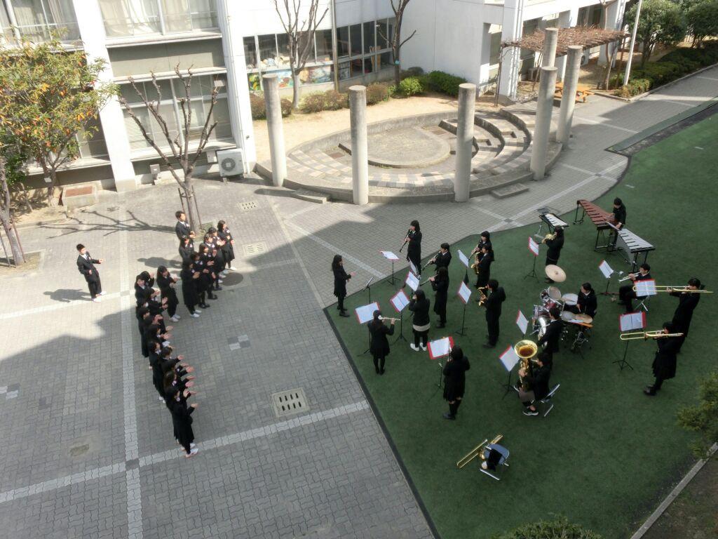 感動の卒業式!!